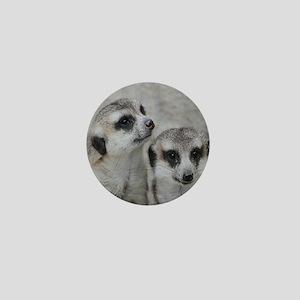 adorable meerkats 02 Mini Button