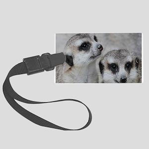 adorable meerkats 02 Luggage Tag