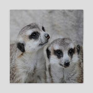adorable meerkats 02 Queen Duvet