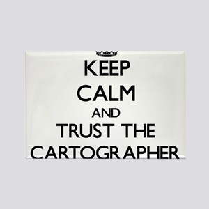 Keep Calm and Trust the Cartographer Magnets