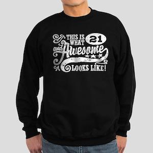 21st Birthday Sweatshirt (dark)