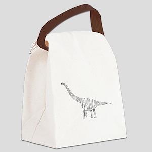 Brachiosaurus Canvas Lunch Bag