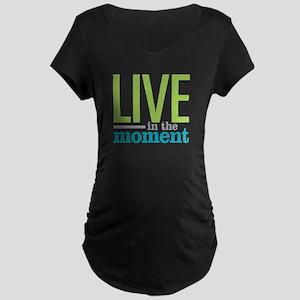 Live Moment Maternity Dark T-Shirt