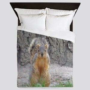 Squirrel Queen Duvet