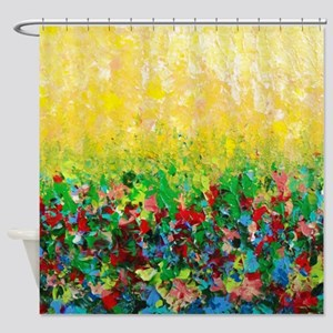 Natures Living Room Shower Curtain