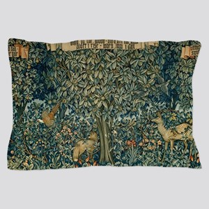 William Morris Greenery Pillow Case
