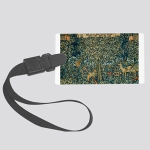 William Morris Greenery Luggage Tag