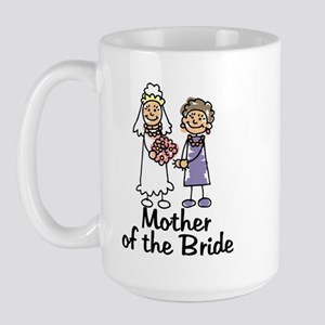 Mother of the Bride Large Mug