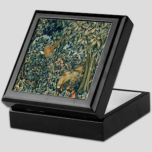 William Morris Greenery Keepsake Box