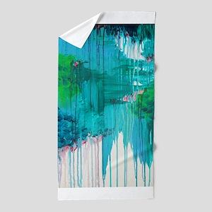 Blue Monsoon rug Beach Towel