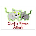 Zombie Kitten Posters