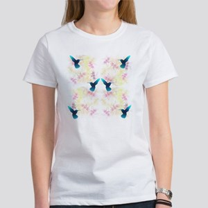 Hummingbird Garden Women's T-Shirt