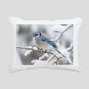 Blue Jay / Mdf GNU CCS-A Rectangular Canvas Pillow