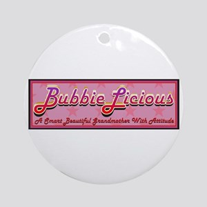 BubbieLicious Ornament (Round)