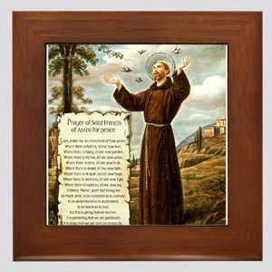 Simple Prayer for Peace by St. Francis of Assisi F
