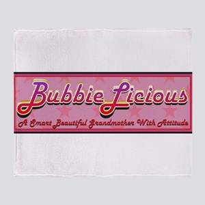 BubbieLicious Throw Blanket