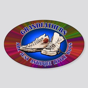 Grandfathers... Sticker (Oval)