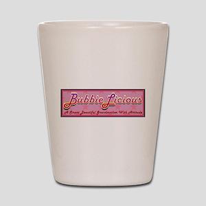 BubbieLicious Shot Glass