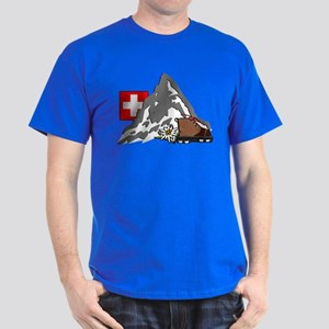 Alpine Hike Dark Colors T-Shirt