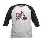 Alpine Hike Kids Baseball Jersey