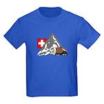 Alpine Hike Kids Royal Blue T-Shirt