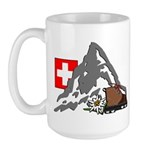 Alpine Hike Large Mug
