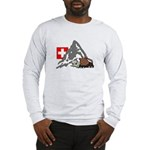 Alpine Hike Long Sleeve Lg Logo T-Shirt