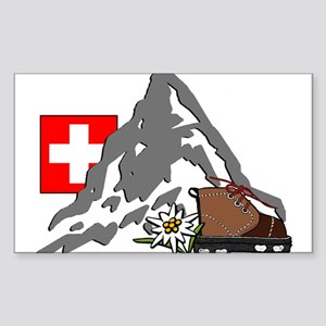 Alpine Hike Rectangle Sticker