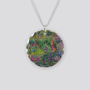 Monet Iris Garden Giverny Necklace