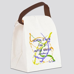 Marble painting by marbles4ms Canvas Lunch Bag