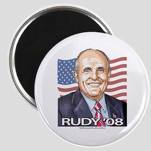 Rudy Portrait '08 Magnet