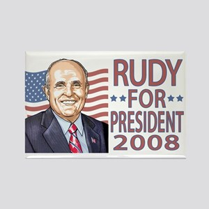 Rudy Portrait '08 Rectangle Magnet