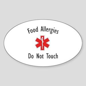 Lunchbag Oval Sticker