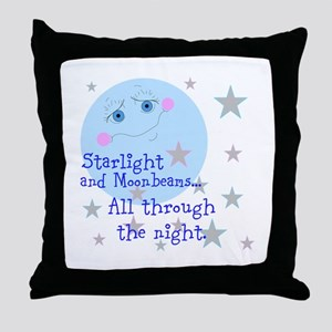 Starlight And Moonbeams Throw Pillow