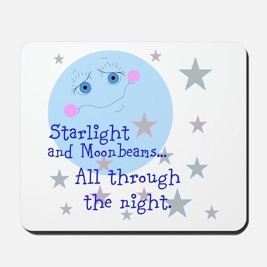 Starlight And Moonbeams Mousepad