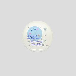 Starlight And Moonbeams Mini Button