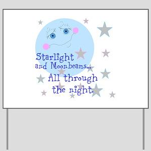 Starlight And Moonbeams Yard Sign