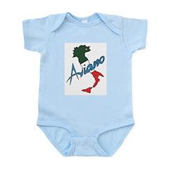 Boot of Italy (Aviano) Infant Creeper