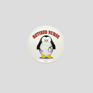 Retired Male Nurse Mini Button