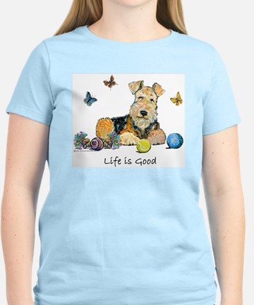 Life is Good Terrier T-Shirt