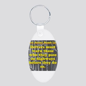 New Jersey Dumb Law #1 Keychains