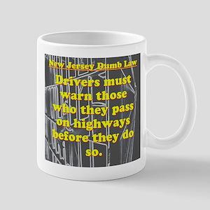 New Jersey Dumb Law #1 Mugs