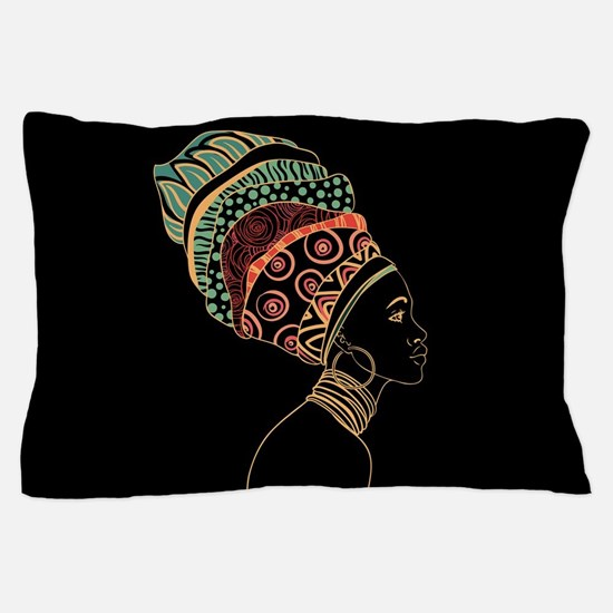 African Woman Pillow Case