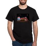 Pink Caddy At 66 Diner Logo T-Shirt