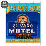 Save The El Vado Logo Puzzle
