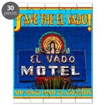 Save The El Vado Logo Puzzle