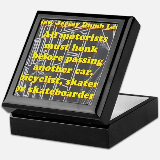 New Jersey Dumb Law #2 Keepsake Box