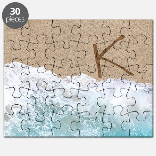 LETTERS IN SAND K Puzzle