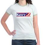 Catholic for Kerry Ringer T-shirt