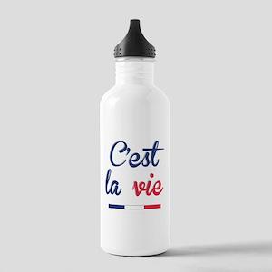 C'est La Vie Stainless Water Bottle 1.0L
